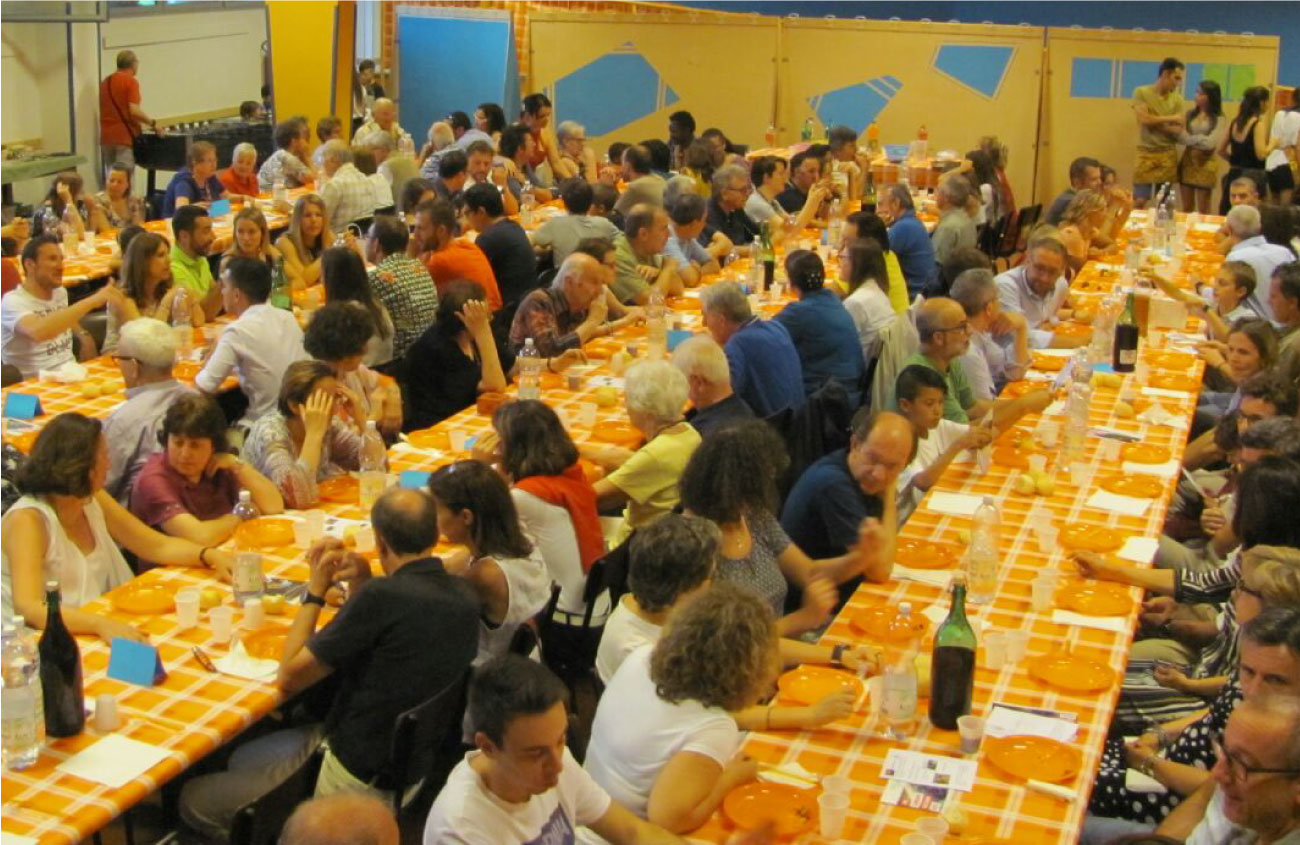 Cena di solidarietà di Impegnarsi serve - 2017